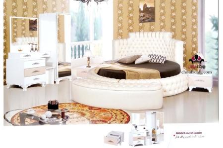 سرویس خواب ثمین پاف دار گرد