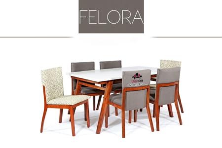 میز غذا خوری فلورا