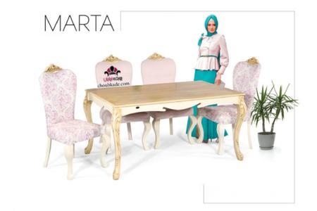 میز غذا خوری مارتا