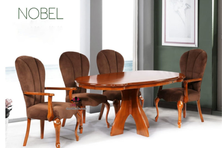 میز غذا خوری نوبل کلاسیک