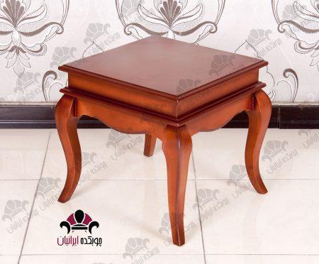 میز جلومبلی و عسلی مهتاب مربع