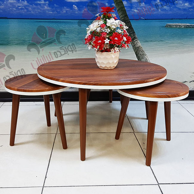 میز جلو مبلی و عسلی گرد وکیوم (2)