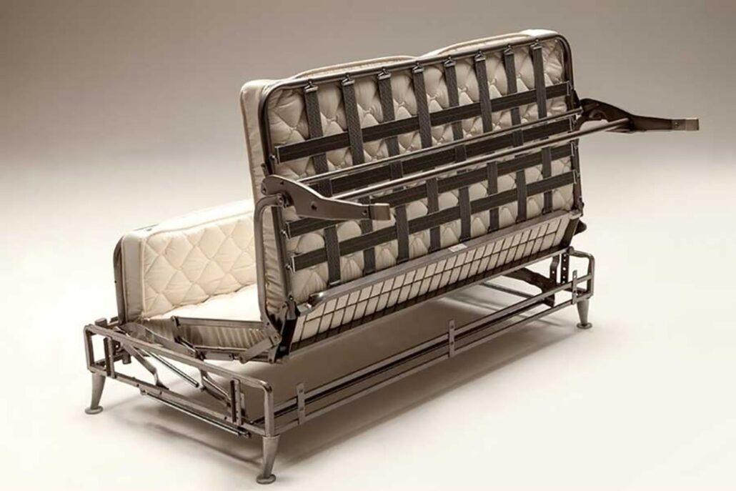 """مکانیزم """"بیرون کشیدن"""" کاناپه مبل تخت خواب شو"""