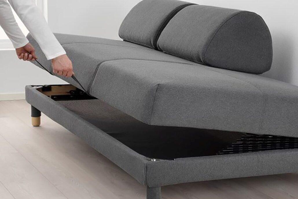 مبل تختخواب شو و راحتی