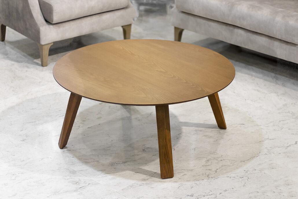 میز جلو مبلی ساده چوبی