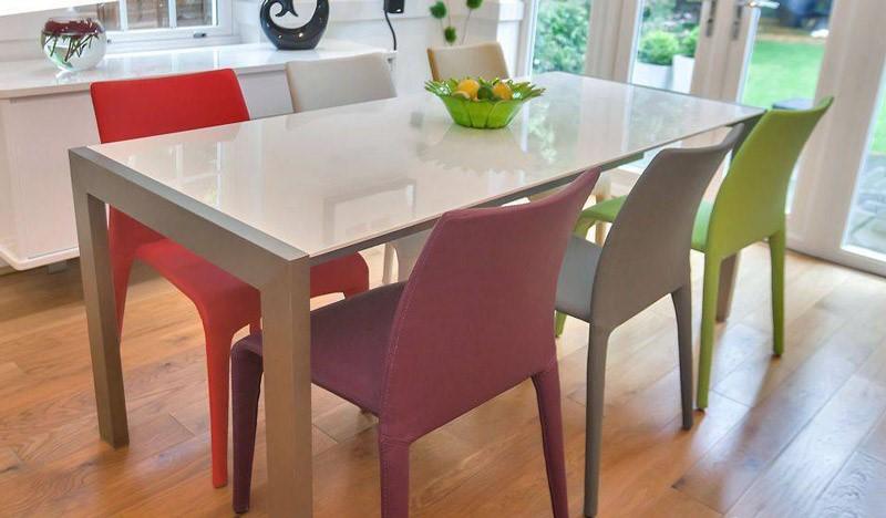 میز ناهار خورهایی با طراحی مدرن