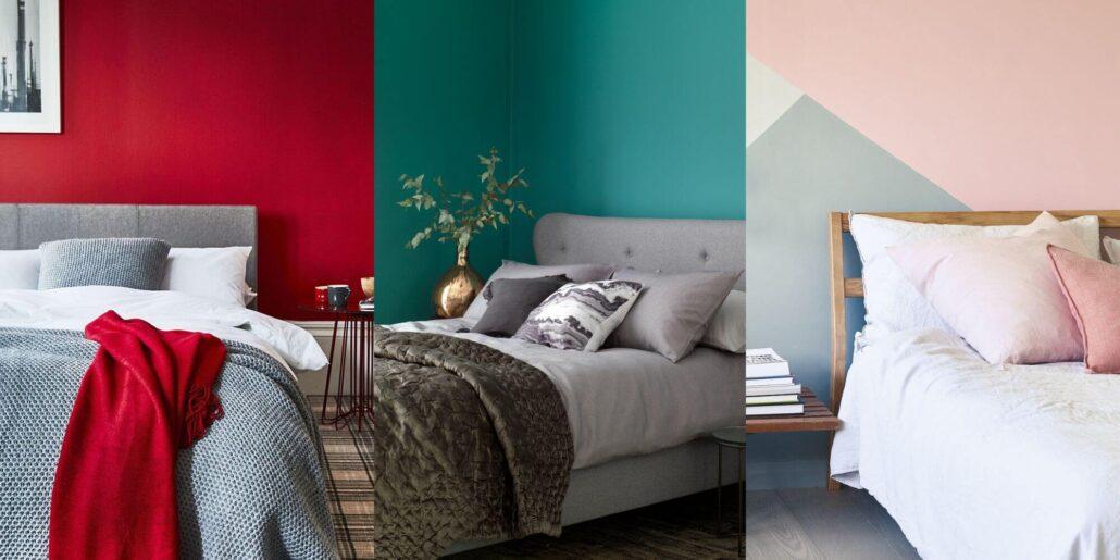 استفاده از رنگ ها در دکوراسیون اتاق خواب
