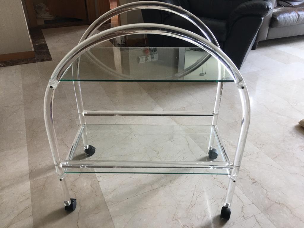 چرخ دستی شیشه ای